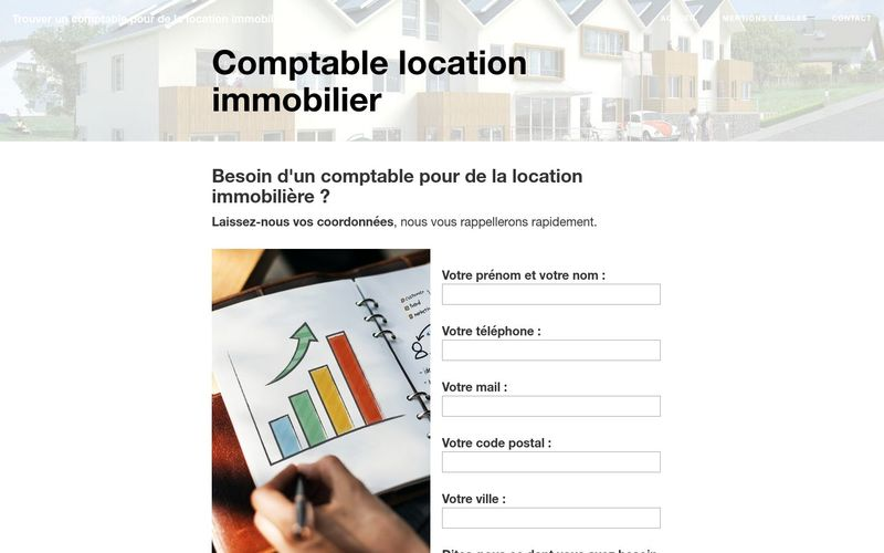 Comptable location immobilier